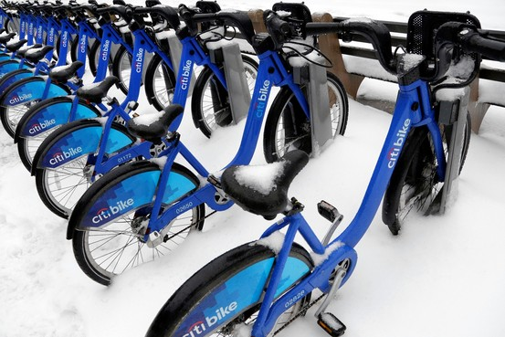 The harsh winter cut down on Citi Bike rentals.