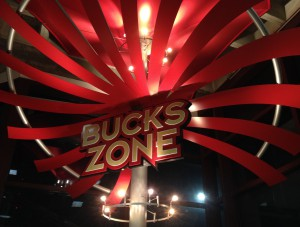 Miley entered the Bucks Zone.