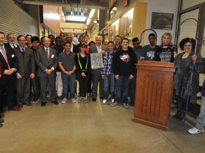 $250,000 Bucyrus Foundation gift will expand welding lab at MPS' Bradley Tech H.S.
