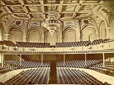 Yesterday's Milwaukee: Interior of Academy of Music, 1876
