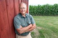 Dale Schultz at his farm near Richland Center. Mike DeVries/The Capital Times