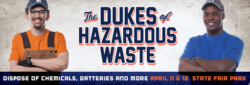 Get Rid of Household Hazardous Waste Friday & Saturday at State Fair Park