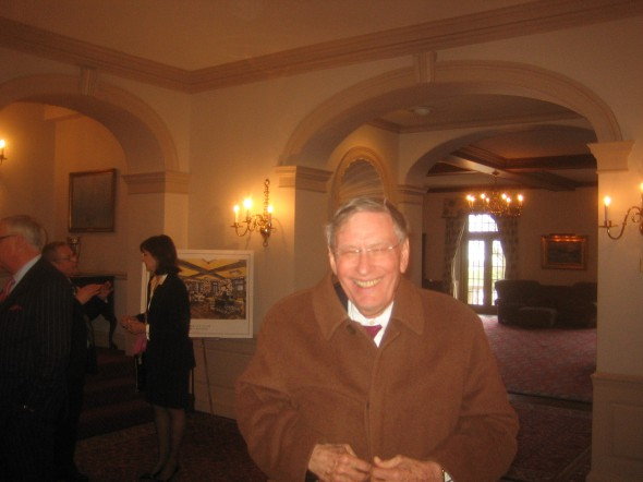 "Allan H. ""Bud"" Selig, the Commissioner of Major League Baseball, at the University Club, April 14th, 2014. Photograph by Michael Horne"