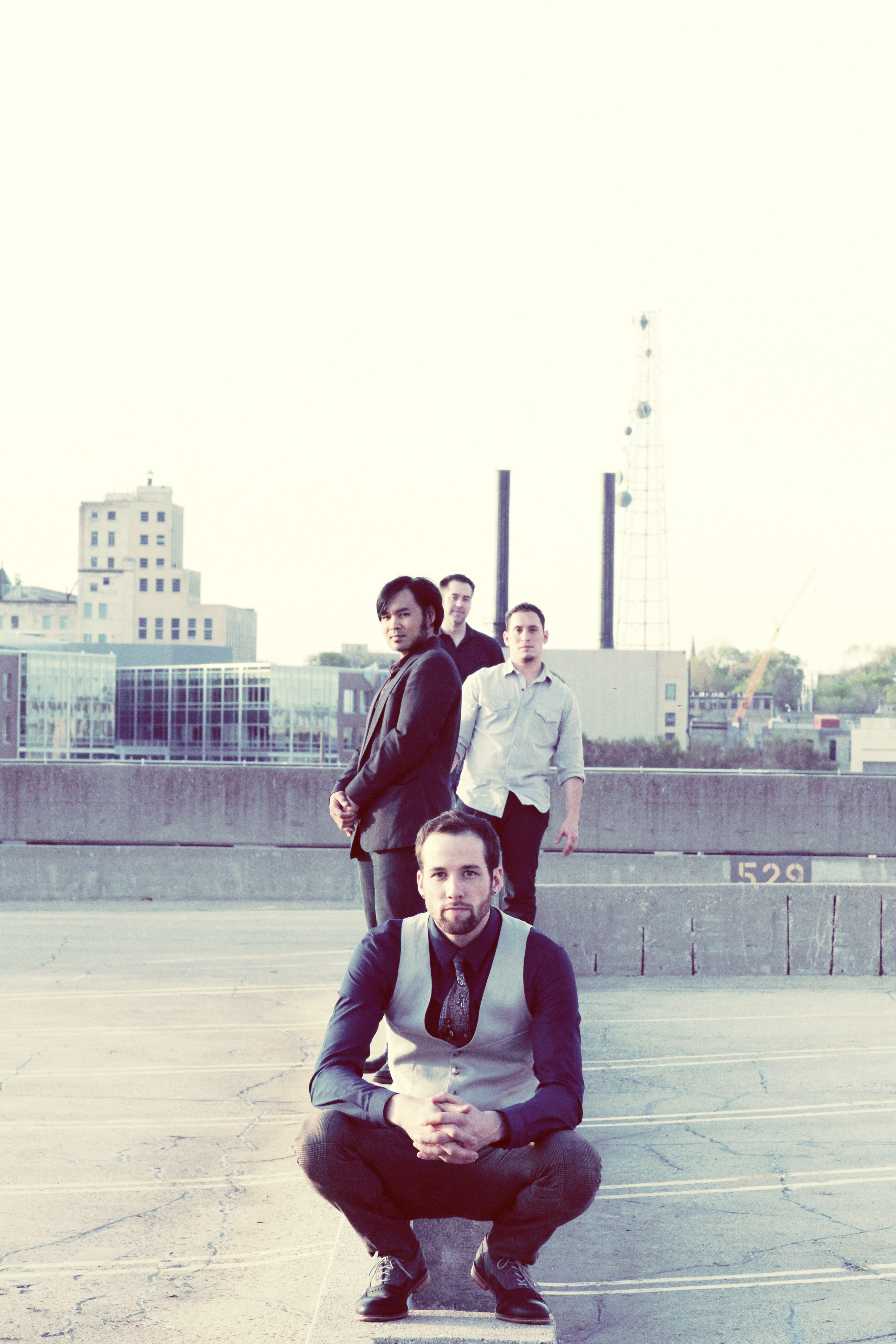 I'm Not A Pilot, a classical crossover band from Milwaukee, began to take shape in 2007. Photo by Danielle Burren.