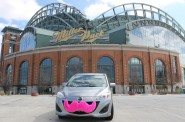 The Pink Mustache Arrives in Milwaukee