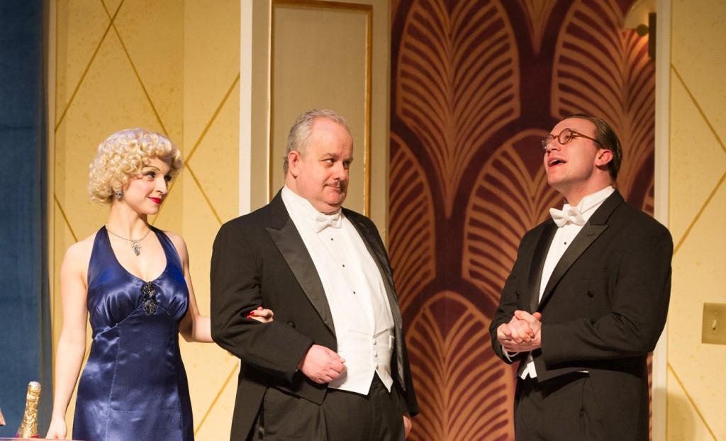 (l-r): Alexandra Bonesho, Drew Brhel & Rick Pendzich. Photo by Mark Frohna.