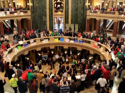 Iowa Copies Walker, Kills Unions