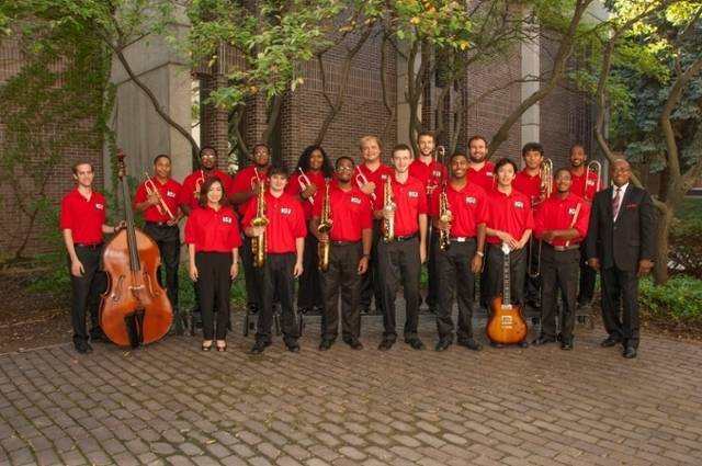NIU Jazz Ensemble. Photo courtesy of Carroll University.