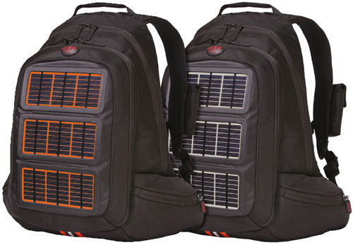 The outer solar panel is detachable so you can mount it on your bike, your jacket, or a larger camping back backpack.