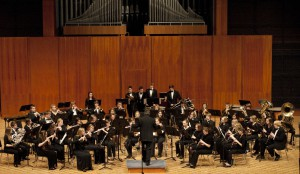 Youth Wind Orchestra of Wisconsin. Photo courtesy of Carroll University.