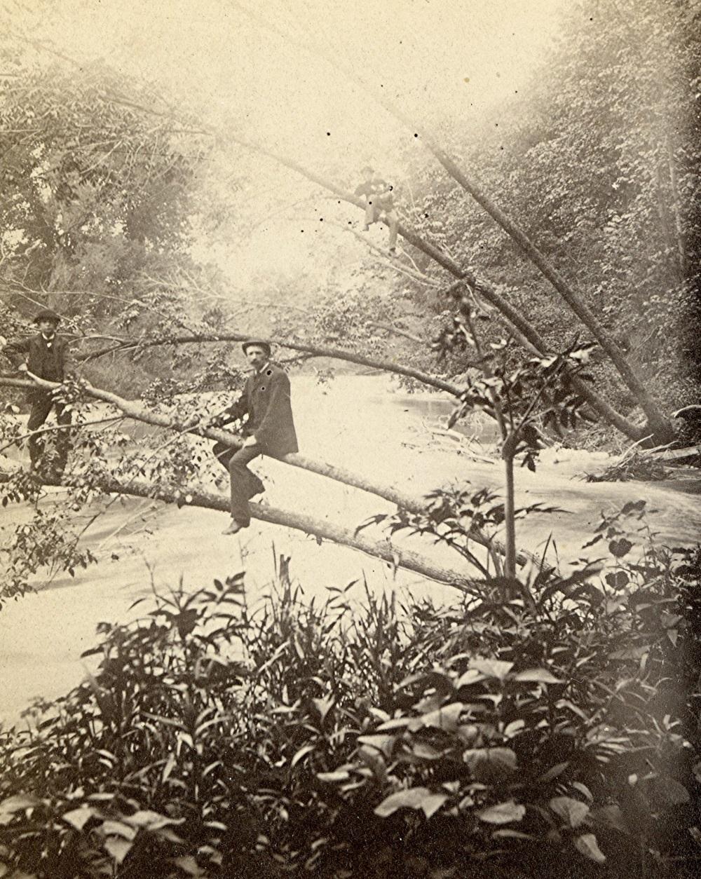 Menomonee Valley, Early 1880s. Photo courtesy of Jeff Beutner.