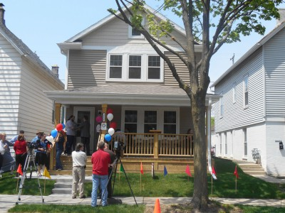 Training Program Builds New Homes in City