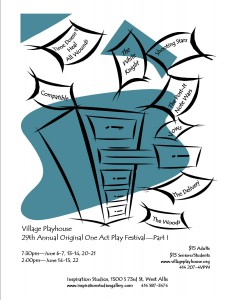 2014 One Acts Flyer