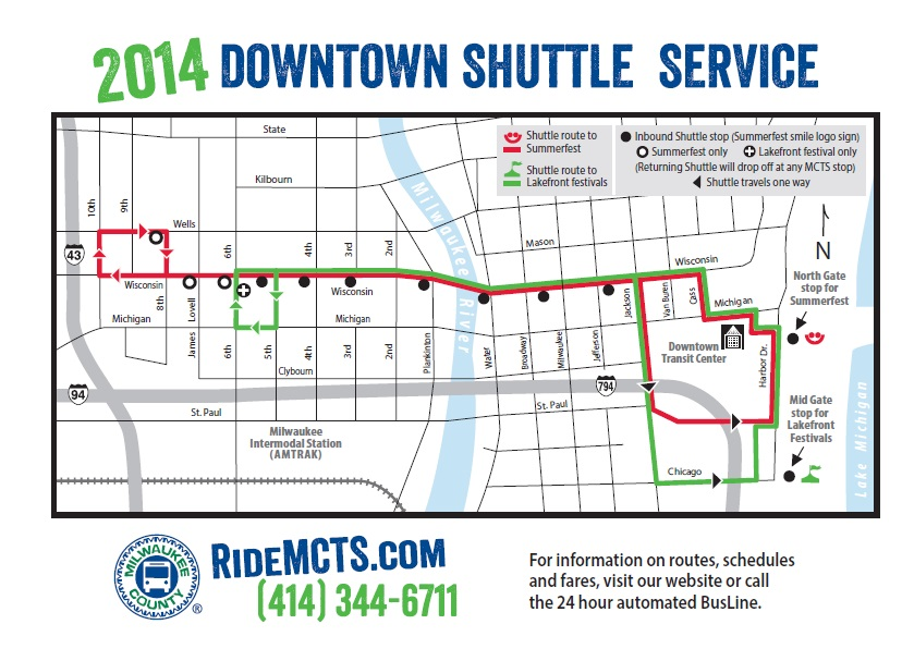 Take the Shuttle to Pridefest