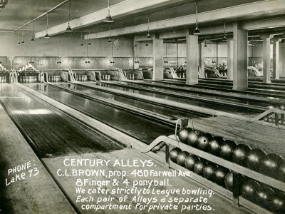 Yesterday's Milwaukee: Century Hall, 1915
