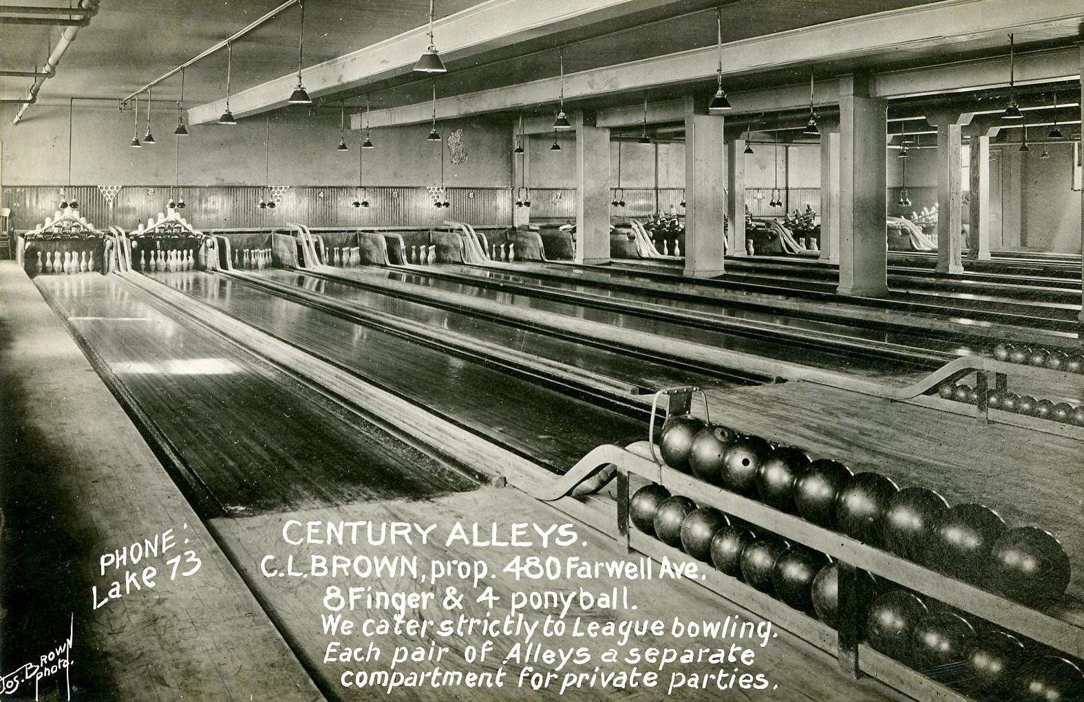 Century Hall, c 1915.