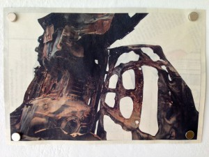 Tony Brown, 13 #35, Inlay, 2013, on view at Walker's Point Center for the Arts