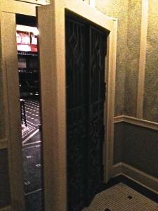 But Bugsy's front door!