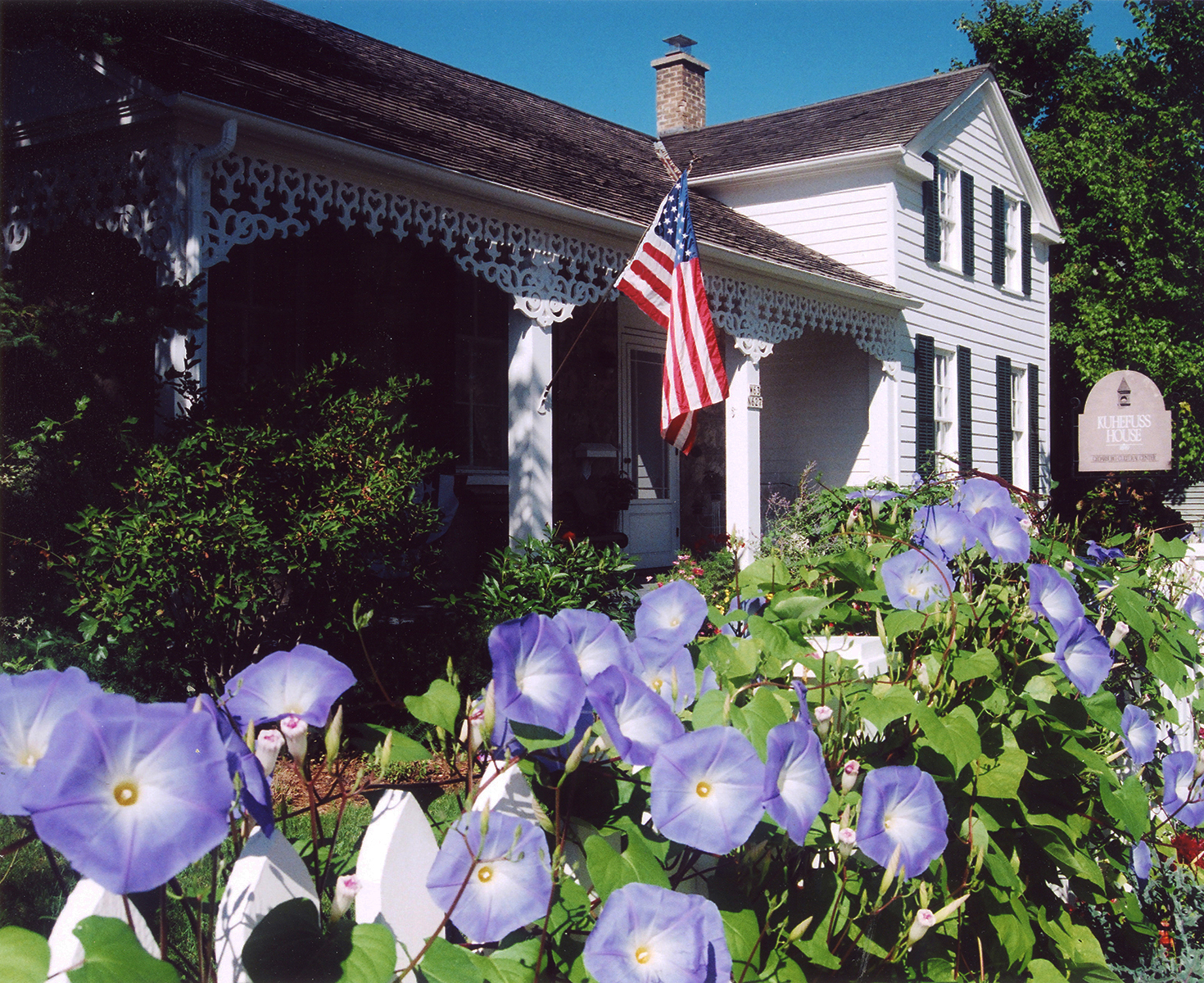 1849 Kuhefuss House Museum in Cedarburg's National Historic District