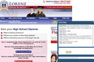 Lorenz High School is one of several unaccredited online operations that claim to offer applicants access