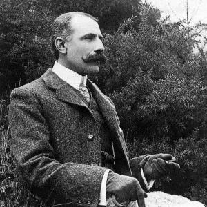 Edward Elgar, circa 1900.