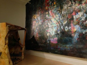Installation view of Retrospective by Gregory Klassen at Walker's Point Center for the Arts.