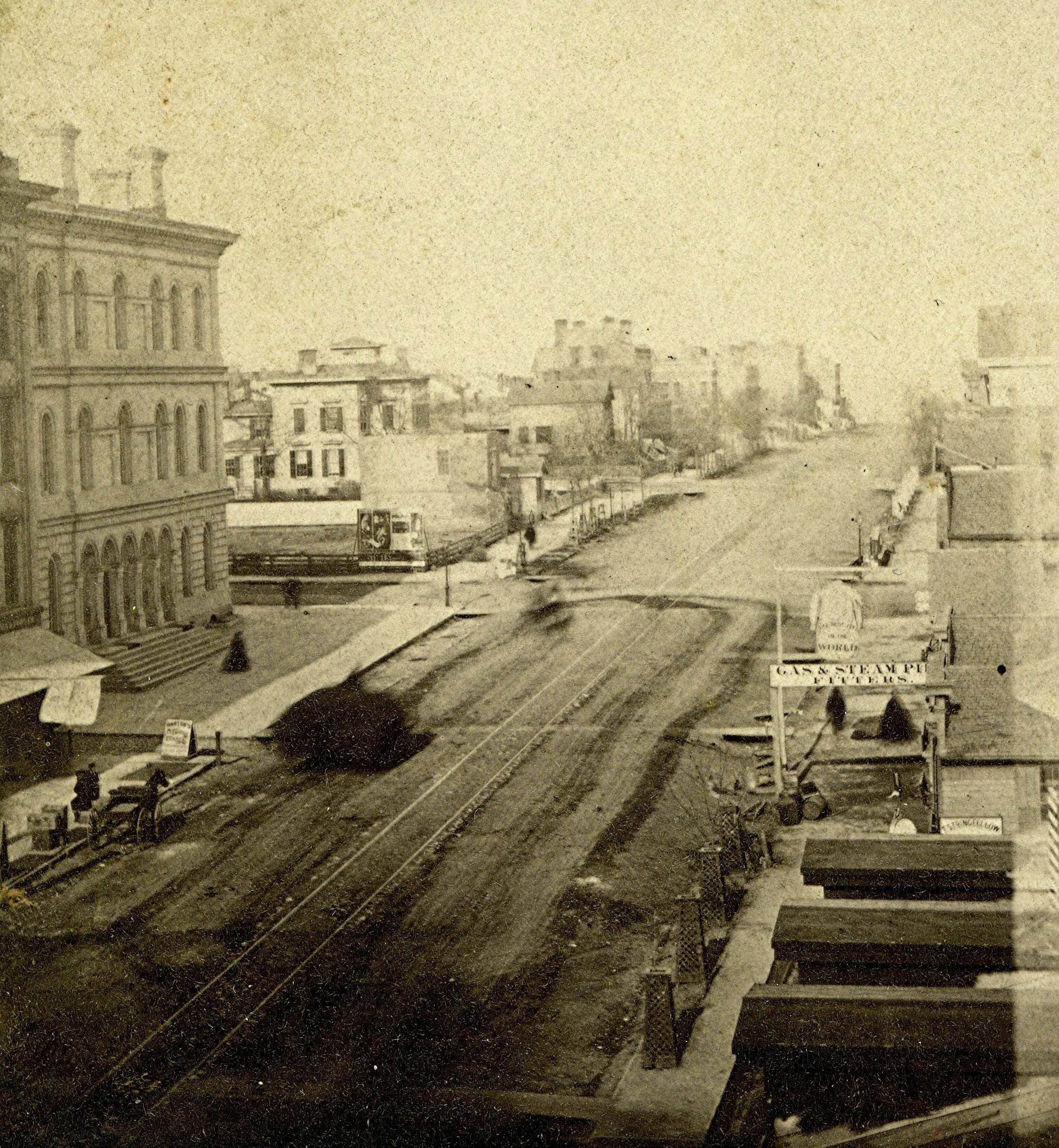 Wisconsin Street, early 1890s.
