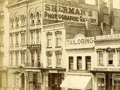 Yesterday's Milwaukee: Sherman's Photographic Gallery, 1867