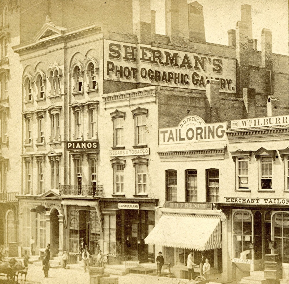 Sherman's Photographic gallery, 1867.