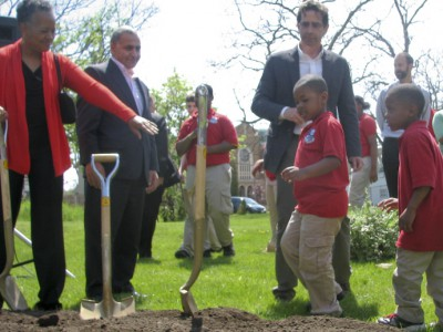 New Pocket Park for Lindsay Heights