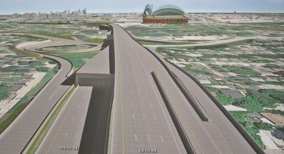The Wisconsin Department of Transportation may build a double-decker freeway in Milwaukee.
