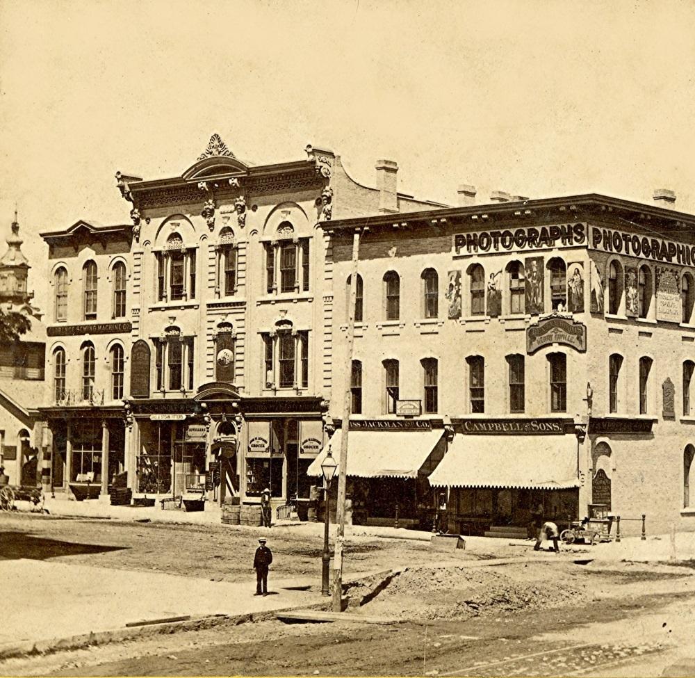 Milwaukee St., 1867-68. Photo courtesy of Jeff Beutner.