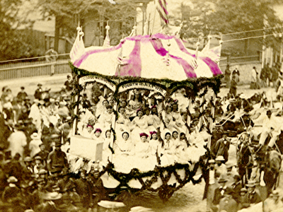Yesterday's Milwaukee: Soldiers Home Fair, 1865