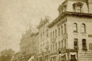 Wisconsin Street at Milwaukee – c 1880