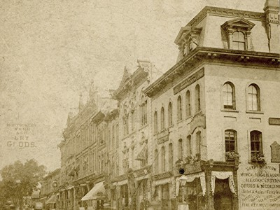 Yesterday's Milwaukee: Wisconsin St. and Milwaukee St., 1880