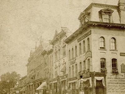 Yesterday's Milwaukee: Wisconsin St. and Milwaukee St., 1880
