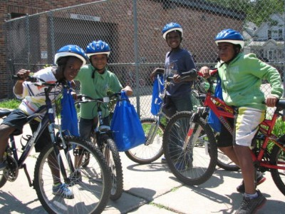Program Provides Bikes for Inner City Kids