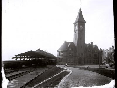 Chicago & North Western Railway Lakefront Depot
