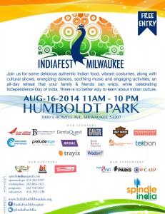 IndiaFest Flyer