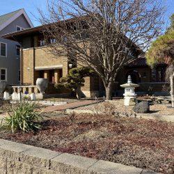Dr. Thomas Robinson Bours House, 2430 E. Newberry Blvd. Photo taken March 13, 2021 by Cari Taylor-Carlson.