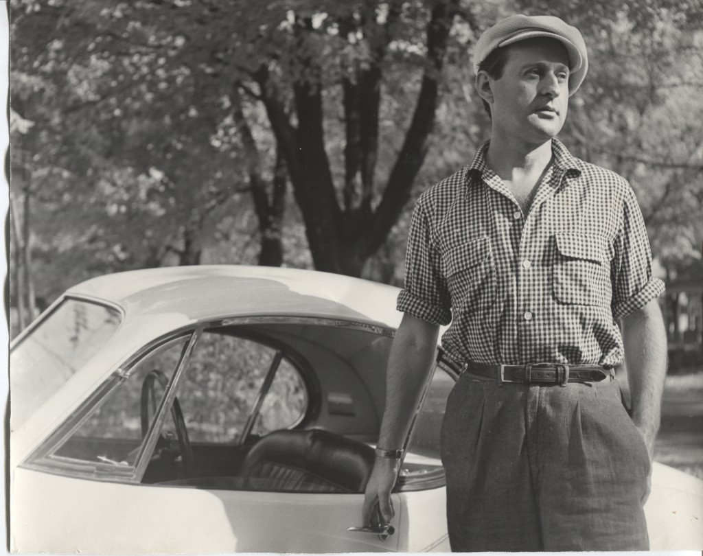 """Portrait of the Artist"", Photograph, circa 1950. Photo courtesy of the Cedarburg Cultural Center."