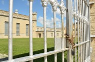 Waupun Correctional Institution has a drawn a large number of complaints from inmates alleging mistreatment by guards. Photo by Lauren Fuhrmann of the Wisconsin Center for Investigative Journalism.