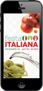 "MKE"" mobile app gives you everything you love Festa, right at your fingertips!"