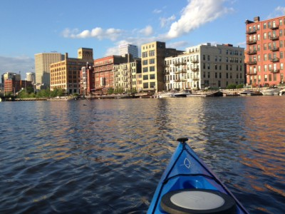 Entertainment at a Distance: Kayak to Support Milwaukee Riverkeepers