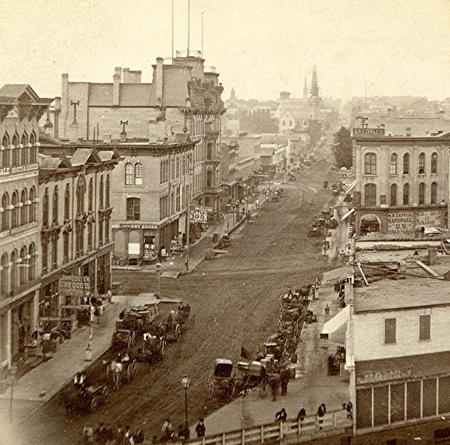 Plankinton House Hotel, 1869