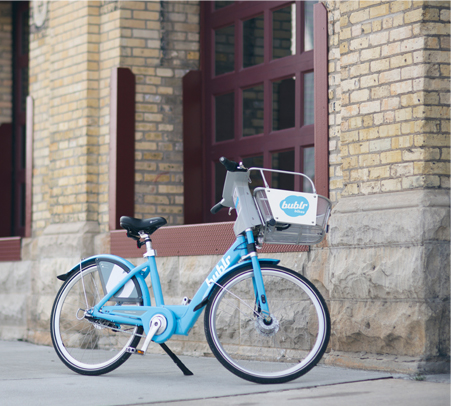 I'm Milwaukee's bike share program! I have a network of bicycles that can be rented for short quick trips. Essentially, I connect people to places in Milwaukee.