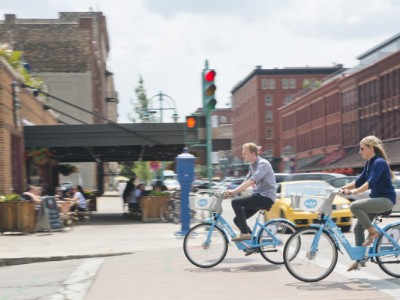 Bublr Bikes Bring Convention Attendees and Visitors a New Way to Get Around Town
