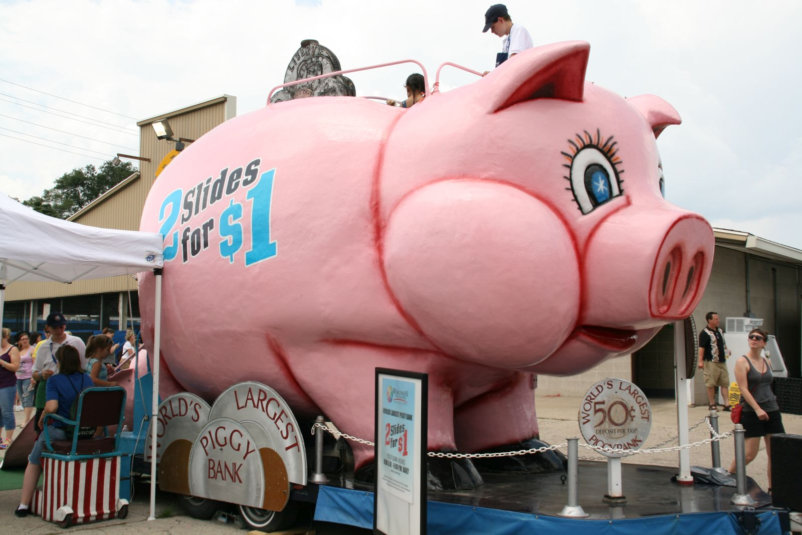 World's Largest Piggy Bank
