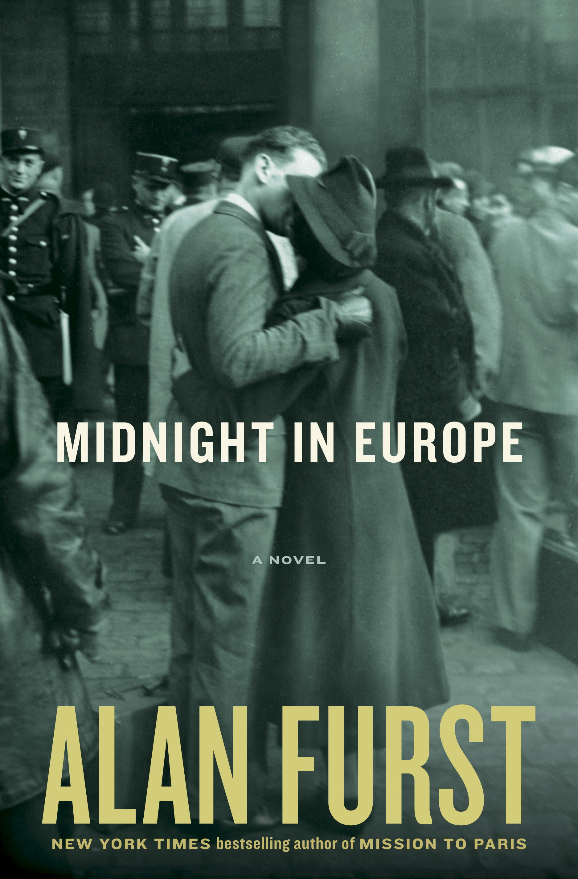 Midnight in Europe Cover