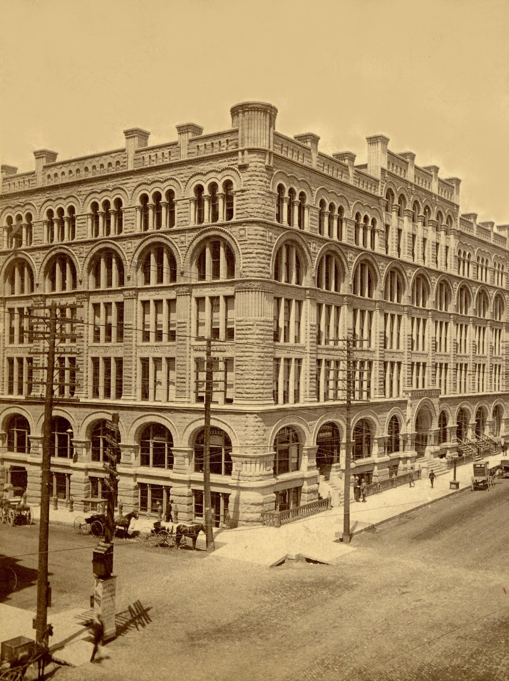 Yesterday\'s Milwaukee: Northwestern Mutual Insurance, 1886 » Urban ...